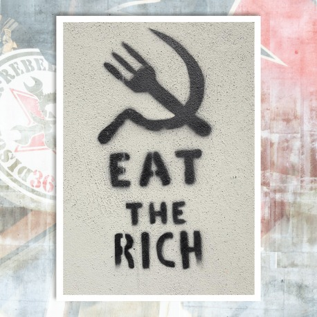 Eat the Rich Postcard