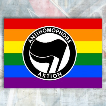 Antihomophobe Aktion Flag